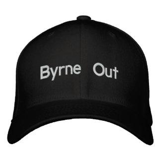 Byrne hacia fuera gorra bordada