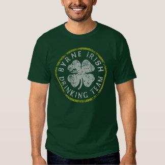 Byrne Irish Family Drinking Team T Shirt