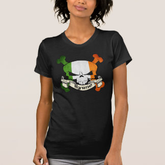 Byrne Irish Skull T Shirt