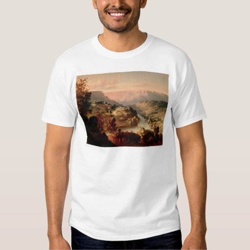 Byrnes Ferry on the Stanislaus River (0707A) T Shirt
