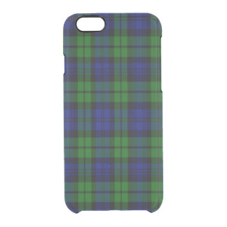 Byrnes Scottish Tartan Uncommon Clearly™ Deflector iPhone 6 Case