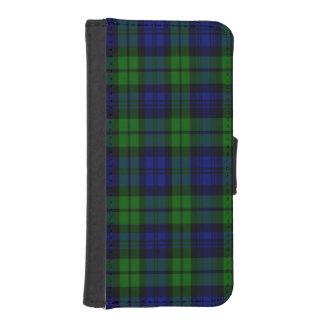 Byrnes Scottish Tartan iPhone 5 Wallet Case