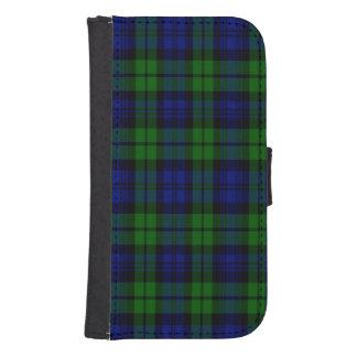 Byrnes Scottish Tartan Galaxy S4 Wallet Cases