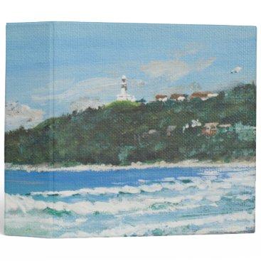 Beach Themed Byron Bay Australia. 27/11/1998 3 Ring Binder