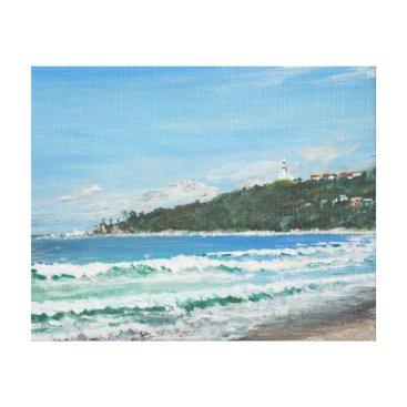 Beach Themed Byron Bay Australia. 27/11/1998 Canvas Print
