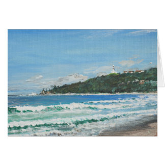 Byron Bay Australia. 27/11/1998 Card