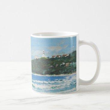 Beach Themed Byron Bay Australia. 27/11/1998 Coffee Mug