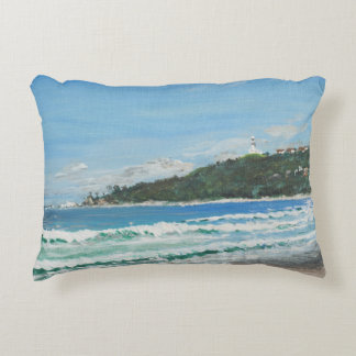 Byron Bay Australia. 27/11/1998 Decorative Pillow