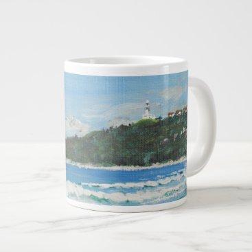 Beach Themed Byron Bay Australia. 27/11/1998 Giant Coffee Mug