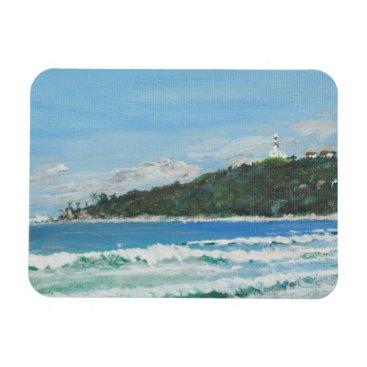Beach Themed Byron Bay Australia. 27/11/1998 Magnet