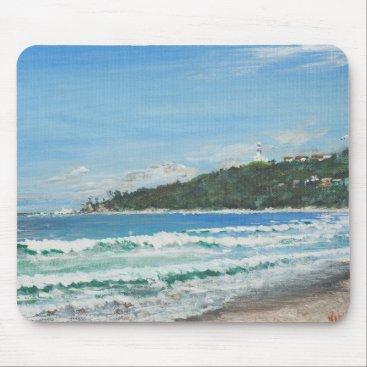 Beach Themed Byron Bay Australia. 27/11/1998 Mouse Pad