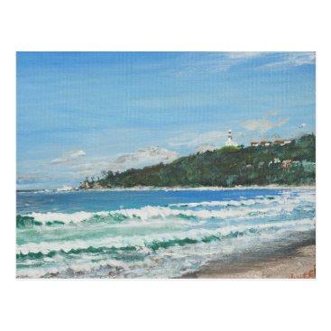 Beach Themed Byron Bay Australia. 27/11/1998 Postcard