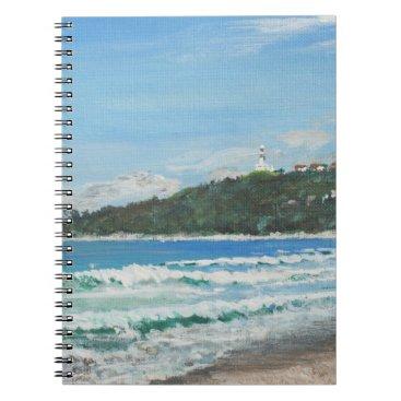 Beach Themed Byron Bay Australia. 27/11/1998 Spiral Notebook