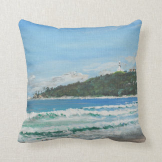 Byron Bay Australia. 27/11/1998 Throw Pillow