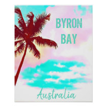 Byron Bay Australia hipster palm vintage travel
