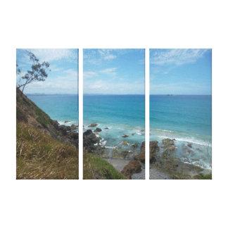 Byron Bay Coastline Canvas Print