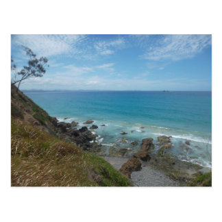Byron Bay Coastline Postcard