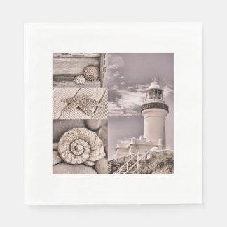 Byron Bay Lighthouse Paper Napkin