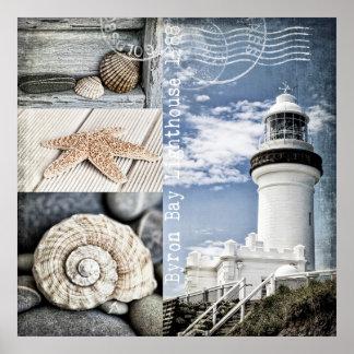 Byron Bay Lighthouse Poster