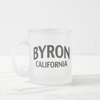 Byron California Taza De Cristal
