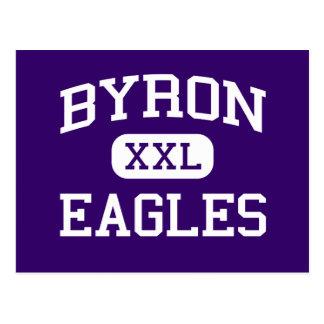 Byron - Eagles - High School secundaria - Byron Tarjetas Postales