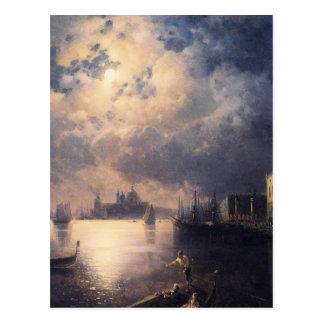 Byron en Venecia de Ivan Aivazovsky Tarjeta Postal