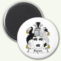 Byron Family Crest Magnet
