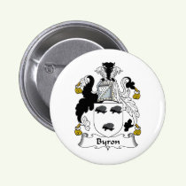 Byron Family Crest Button