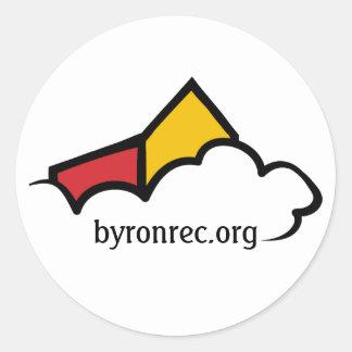 Byron Rec Logo Sticker