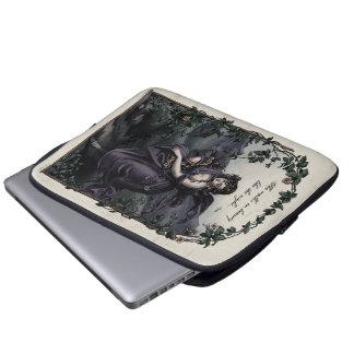 """Byron """"She Walks in Beauty"""" Laptop Sleeve"""