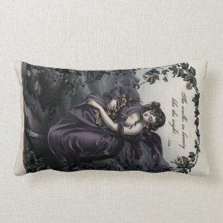 """Byron """"She Walks in Beauty"""" Victorian Art Pillow"""