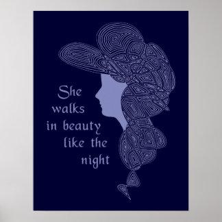 Byron's Lady Poster