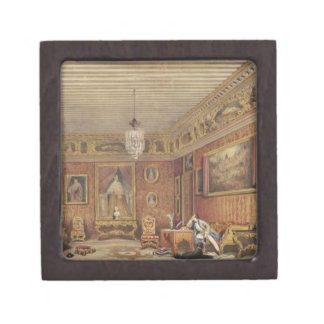 Byron's Room in Palazzo Mocenigo, Venice (w/c on p Jewelry Box