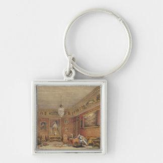 Byron's Room in Palazzo Mocenigo, Venice (w/c on p Keychains