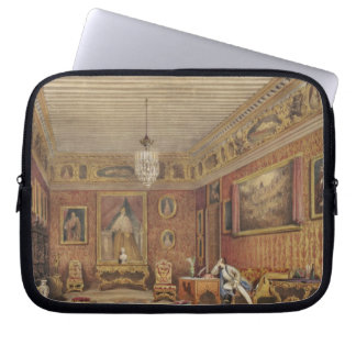 Byron's Room in Palazzo Mocenigo, Venice (w/c on p Laptop Sleeves