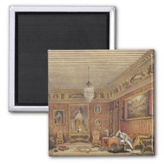 Byron's Room in Palazzo Mocenigo, Venice (w/c on p Magnet