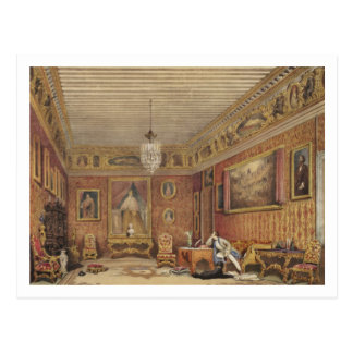 Byron's Room in Palazzo Mocenigo, Venice (w/c on p Postcard