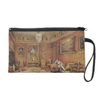 Byron's Room in Palazzo Mocenigo, Venice (w/c on p Wristlet Purse