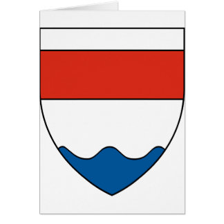 Bystrc znak, Czech Greeting Card