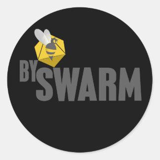 bySwarm stickers - black