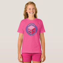 """Byte Hazard""  Girls' Basic T-Shirt"
