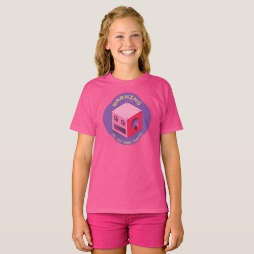 Byte Hazard  Girls Basic T_Shirt