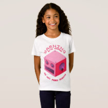 """Byte Hazard""  Girls' Fine Jersey T-Shirt"