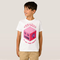 """Byte Hazard""  Kids' Basic T-Shirt"