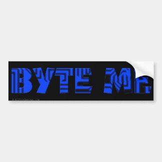 Byte Me Computer Circuit Board Bumper Sticker