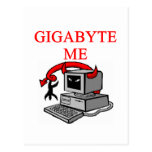 BYTE me insult Post Cards