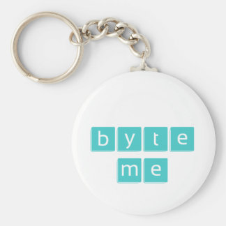Byte Me Key Chains