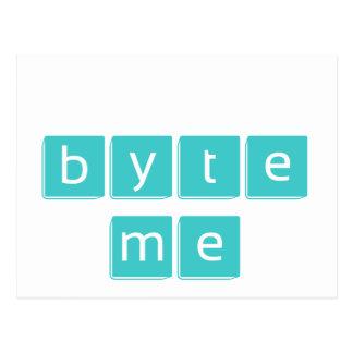 Byte Me Post Card