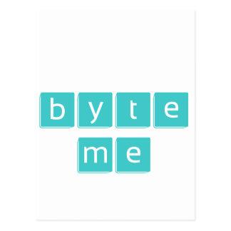 Byte Me Postcard