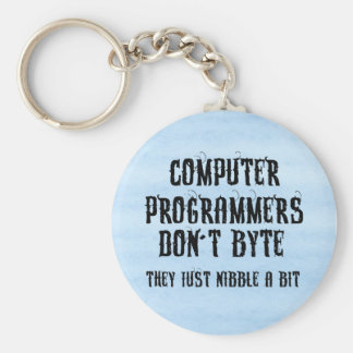 Byting Programmers Key Chains